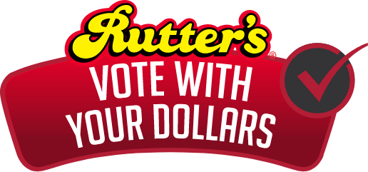 Rutter's vote with your dollars