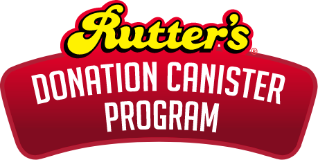 Rutter's Donation Canister