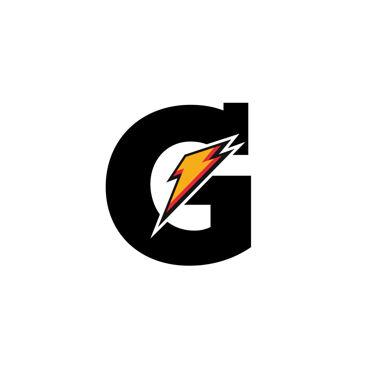 Gatorade Logo - G with Lightning bolt